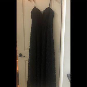 Aidan Mattox black gown